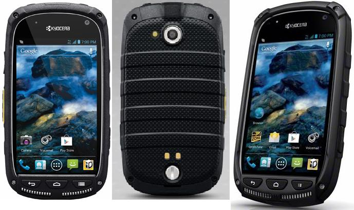 Kyocera Torque Rugged LTE Android Phone (Sprint) - Pics Specs